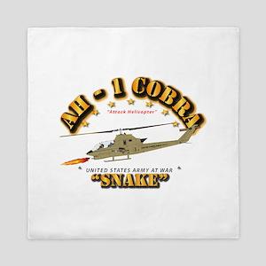 AH-1 Cobra - Snake Queen Duvet