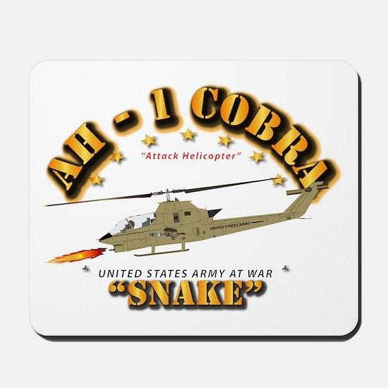 AH-1 Cobra - Snake Mousepad