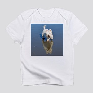 Westie Beach Reflection Infant T-Shirt