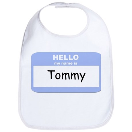 My Name is Tommy Bib