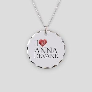 I Heart Anna Devane Necklace Circle Charm