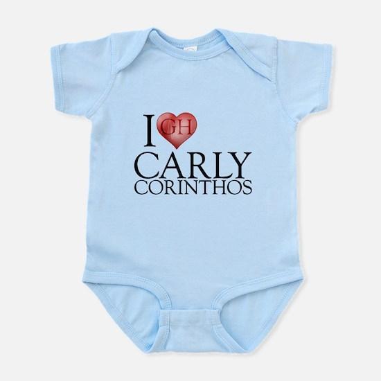 I Heart Carly Corinthos Infant Bodysuit
