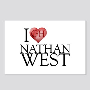 I Heart Nathan West Postcards (Package of 8)