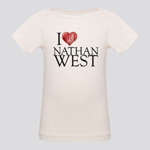 I Heart Nathan West Organic Baby T-Shirt