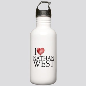 I Heart Nathan West Stainless Water Bottle 1.0L