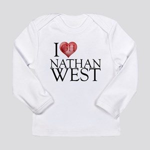 I Heart Nathan West Long Sleeve Infant T-Shirt