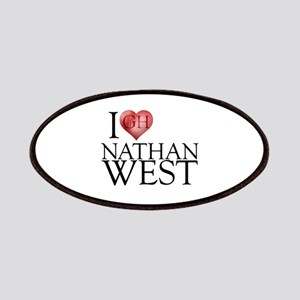 I Heart Nathan West Patches