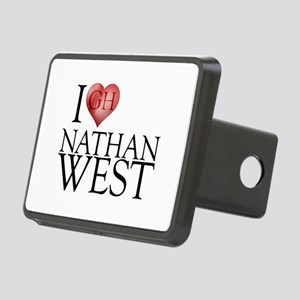 I Heart Nathan West Rectangular Hitch Cover