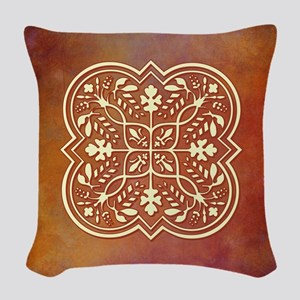 ELEGANT TILE Woven Throw Pillow