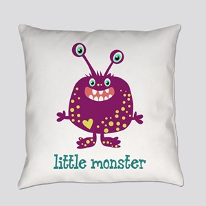 Little Monster Everyday Pillow
