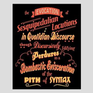 Sesquipedalian Locutions III Small Poster