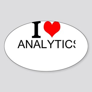 I Love Analytics Sticker