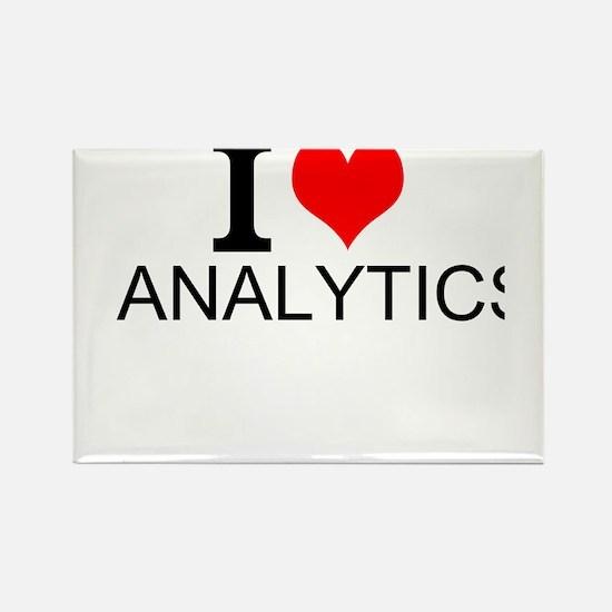 I Love Analytics Magnets