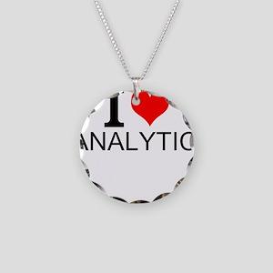 I Love Analytics Necklace