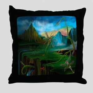 Primordial Climate Change Throw Pillow