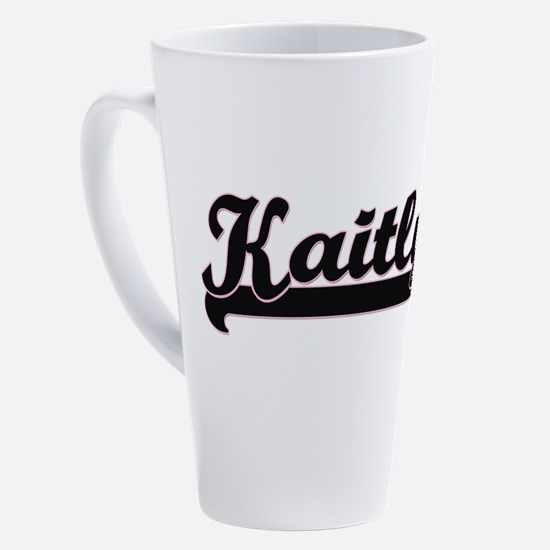 Cute Kaitlyn 17 oz Latte Mug