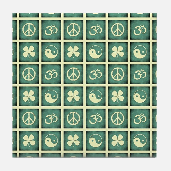 ICONS Tile Coaster