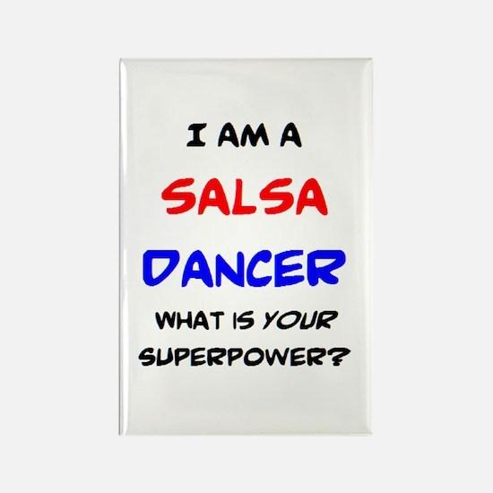 salsa dancer Rectangle Magnet