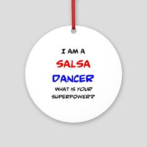 salsa dancer Round Ornament