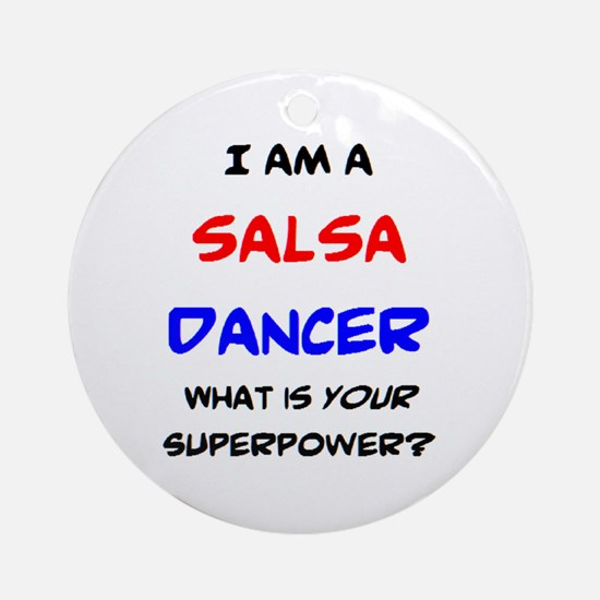 salsa dancer Round Ornament