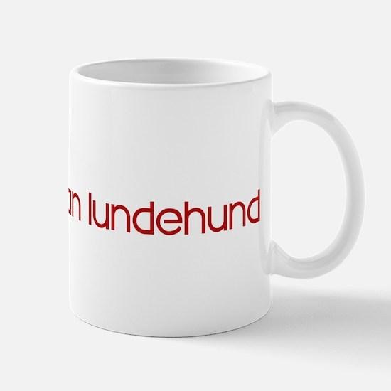 Norwegian Lundehund (dog paw  Mug