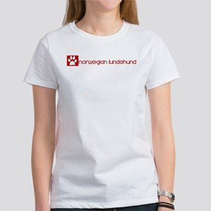 Norwegian Lundehund (dog paw Women's T-Shirt