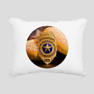 Mall Cop Recognition Rectangular Canvas Pillow