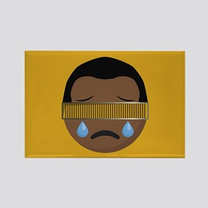 Star Trek Geordi LaForge Crying Rectangle Magnet