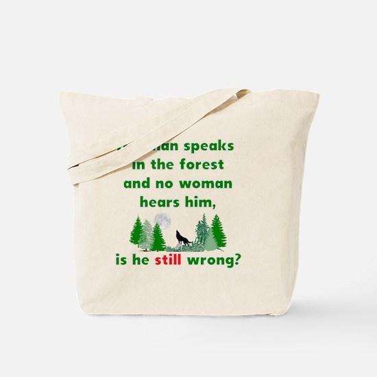 Unique Mens wolf Tote Bag