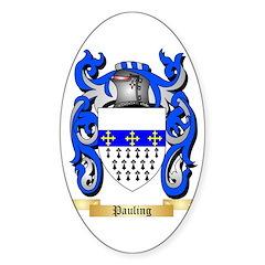 Pauling Sticker (Oval)