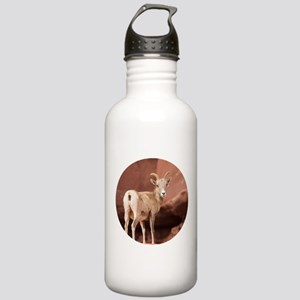 Beautiful Lady Stainless Water Bottle 1.0L