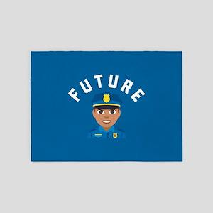 Emoji Future Police 5'x7'Area Rug