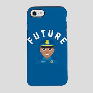 Emoji Future Police iPhone 8/7 Tough Case