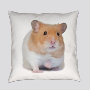 Chunk the Hamster Front Everyday Pillow