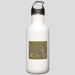 Vintge Map of Oxford E Stainless Water Bottle 1.0L