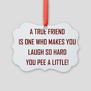 A TRUE FRIEND... Ornament