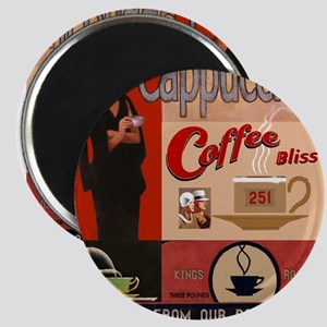 Vintage poster - Cappuccino Magnets