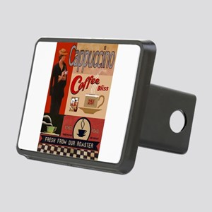 Vintage poster - Cappuccin Rectangular Hitch Cover