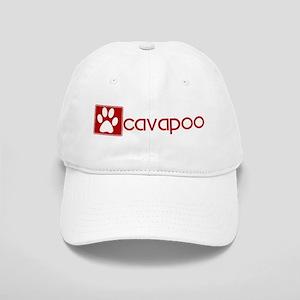 Cavapoo (dog paw red) Cap