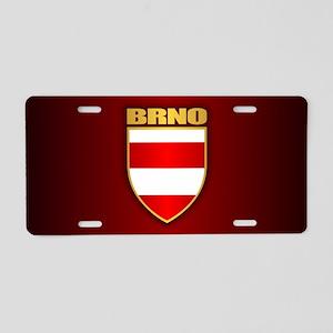 Brno Aluminum License Plate