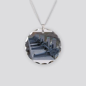 Blackstone Canal Gears Necklace