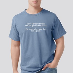 Good Without God Atheism Women's Dark T-Shirt