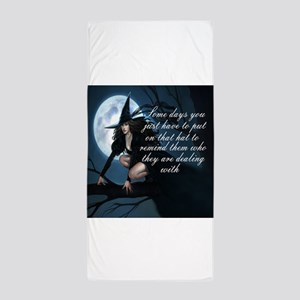 witch humor Beach Towel