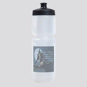 witch humor Sports Bottle