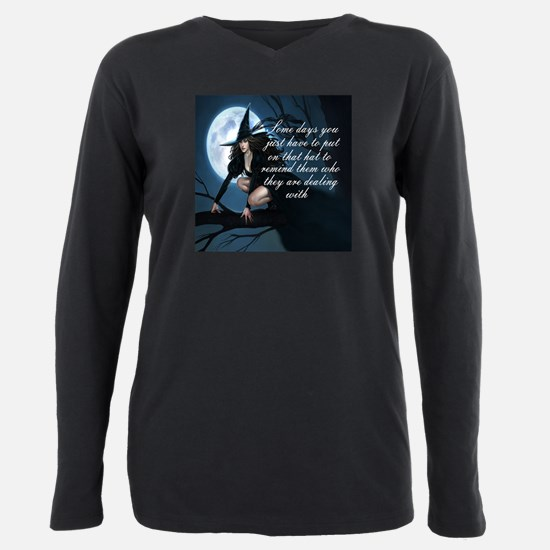 witch humor Plus Size Long Sleeve Tee