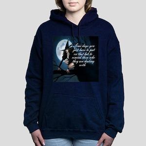 witch humor Women's Hooded Sweatshirt