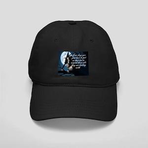 witch humor Black Cap