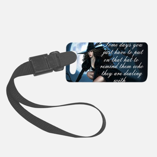 witch humor Luggage Tag