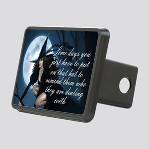witch humor Rectangular Hitch Cover