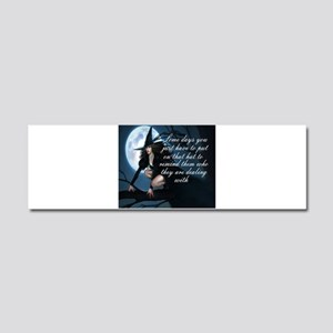 witch humor Car Magnet 10 x 3